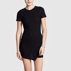 Nordstrom Dee Elle Asymmetrical Textured dress